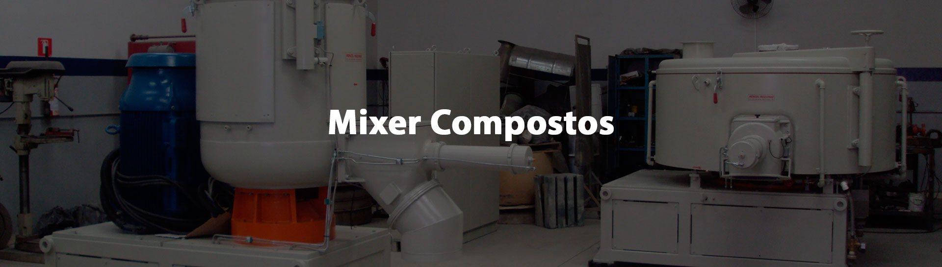Mixer para compostos