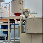 Misturador e resfriador para pvc